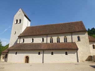 Die renovierte Pfarrkirche St. Cyriak in Sulzburg