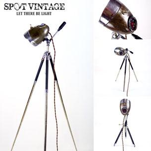 Spot Vintage Lampen Unikate Motorrad Leuchten Scheinwerfer