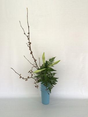 2016.1.20 瓶花      by Kumikoさん