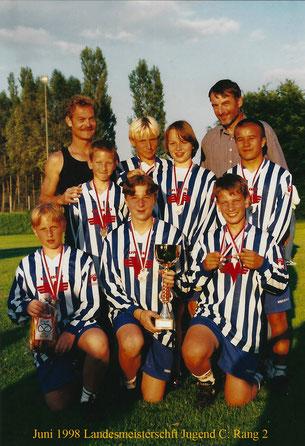 Sportunion Schärding Faustball Bereits 1998 konnte bei der Landesmeisterschaft/Jugend C in der Halle der 4. Rang und im Feld der 2. Rang erreicht werden