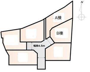 大磯国府新宿戸建区画図