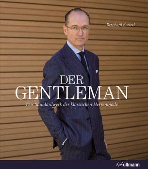 """Neuauflage des """"Gentleman""""/ """"Gentleman"""" book cover. Copyright: h.f. ullmann verlag."""