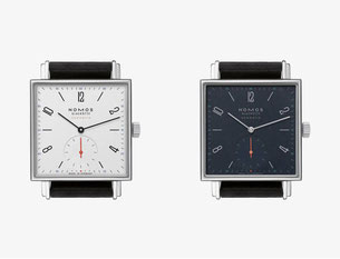 Tetra neomatik. Photo copyright: Nomos Glashütte.