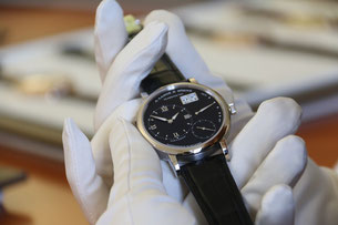 High end mechanical watch from A. Lange & Söhne. Photo: Men's Individual Fashion.
