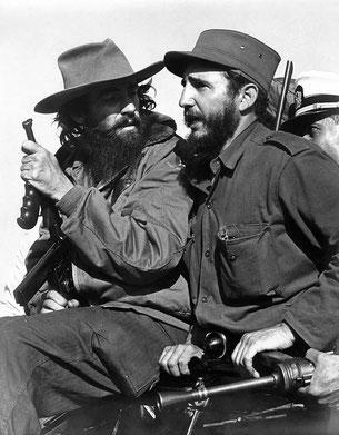Fidel Castro und Camilo Cienfiegos