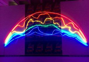 Sarkis, Two rainbows (due arcobaleni)
