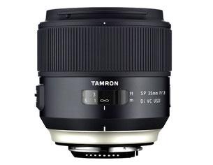 Tamron SP 35/1.8 (с сайта компании)