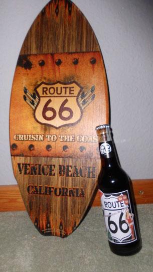 Bild: Route 66, Fritz Cola, Venice Beach, HDW, Klaus Wuttke