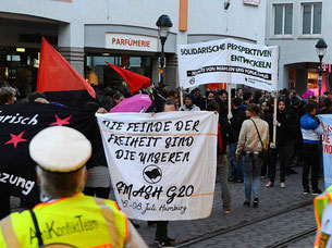 01. Mai Demo in Freiburg