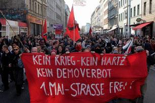 1. Mai Demos gegen soziale Ungerechtigkeit