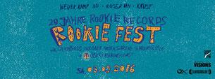 Rookie Fest Flyer
