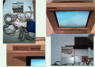 HP Patientenmonitor M1275A für Medizin und Praxis
