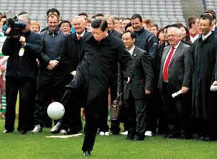 L'attuale Presidente della Repubblica Popolare Cinese Xi Jinping