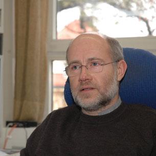 Harald Lesch bei einem Interview mit dem Christlichen Medienmagazin pro im Mai 2010