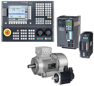 SINUMERIK 808D Turning, SINAMICS G120/V60 mit SIMOTICS 1LE1/1FL5 © Siemens AG 2019, Alle Rechte vorbehalten
