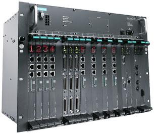 SIMATIC TDC, bestücktes Rack © Siemens AG 2020, Alle Rechte vorbehalten