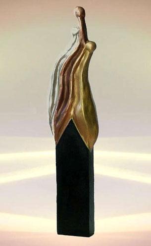 Skulptur für Balance und Entspannung