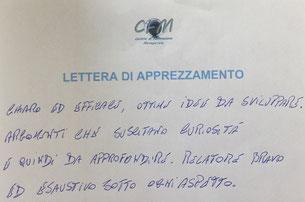 CFM_Workshop_Lettera_apprezzamento_RP_SDT_impianti_