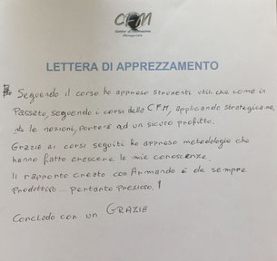 CFM_Workshop_Lettera_apprezzamento_FA_Serigraf Solution
