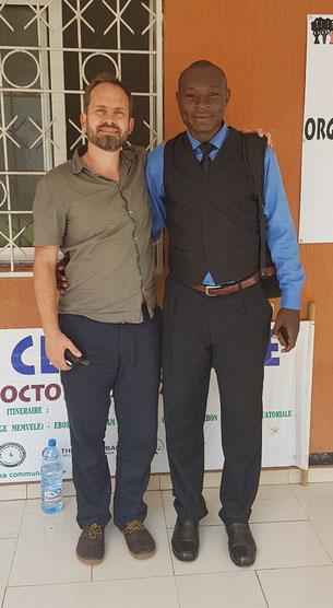 Dr. Simon André Mischel et Sr. Wangho René Job