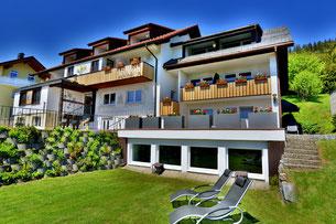 Hotel Arnica im Sommer