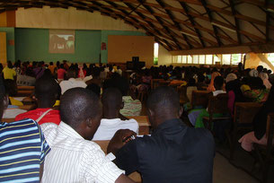 Projection Festimaj Atakpamé - Togo