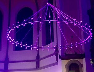 Kronleuchter der Markuskirche Hannover