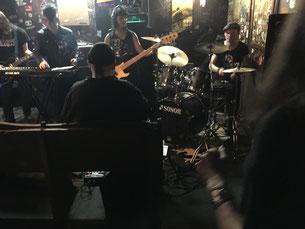 (v.l.) Dani Dark, Rio Black (im Vordergrund) Sandy und Friedi