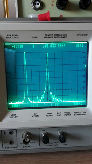 144 MHz quarz generator for 2 tone IMD test.