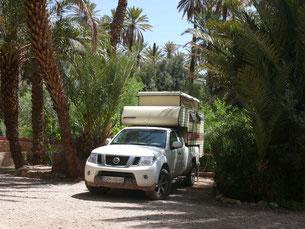 Camping Atlas, Todra-Schlucht