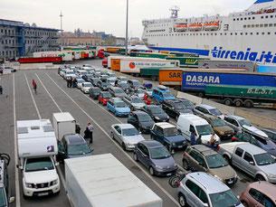 Hafen in Genua