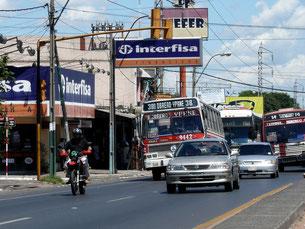 Verkehr in Asuncion