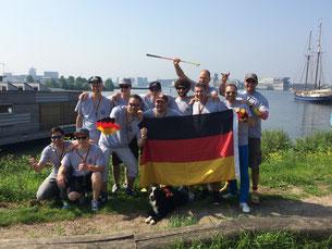 Team Silbermedaille - ©Claudio Orlik