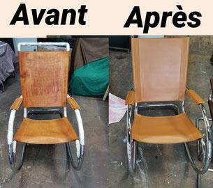 renovation mobilier pro en cuir lyon