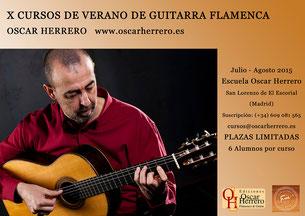 X CURSOS DE VERANO DE GUITARRA FLAMENCA