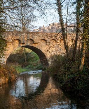 Autichamp-le pont coté amont