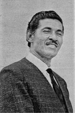 """Tito Cortés, """"El Ciclón del Pacifico""""."""