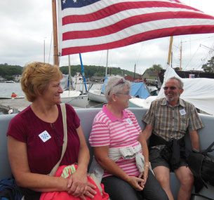 Some of our Passengers Started with a Boat Ride