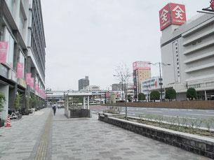 広島県・福山駅前