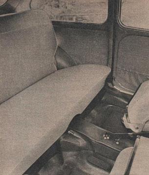 Prueba plazas traseras Seat 600