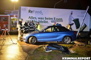Bei Unfall in Hönow werden zwei Frauen bei einem Unfall schwer verletzt.