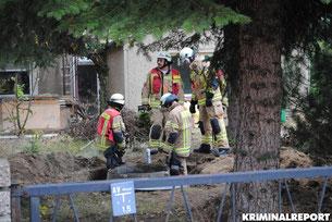 Biesdorf: Gasleck löst Feuerwehreinsatz aus