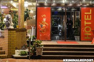 Anschlag auf Hotel Aga's in Marzahn