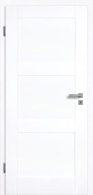Valencia 3G Weißlack 3.0 Extraweiß, Designkante