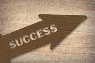 "Pfeil: ""Success"""