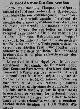 Journal de la Meurthe et des Vosges du 11 février 1916