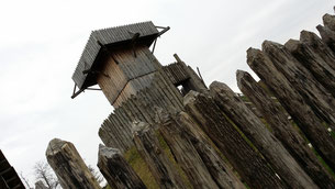 Geschichtspark Bärnau, Turmhügelburg