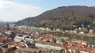 Heidelberg, Altstadt und Philosophenweg