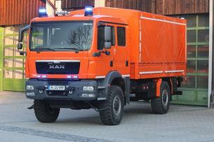 Der neue Allrad-Lkw zum Transport von Material in schweres Gelände