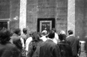 der Höhepunkt - die Mona Lisa von Leonadro da Vince